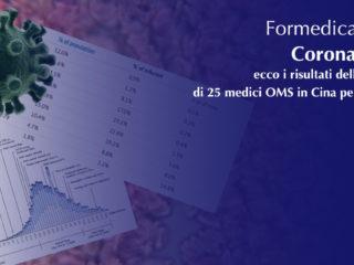Coronavirus: ecco i risultati della ricerca di 25 medici OMS in Cina per 9 giorni