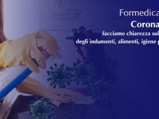 Coronavirus: facciamo chiarezza sulla pulizia degli indumenti, alimenti, igiene personale