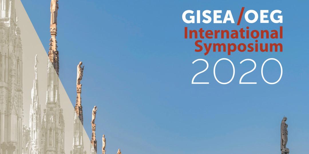 Il Simposio Internazionale GISEA/OEG 2020 comincia questo Lunedì!